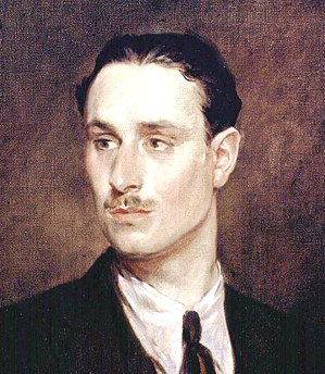 Oswald Mosley - 1925 portrait of Mosley by Glyn Warren Philpot (detail)