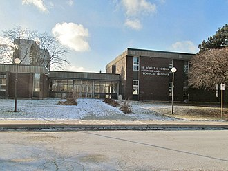 Scarborough Board of Education - Image: Sir Robert L. Borden Business and Technical Institute