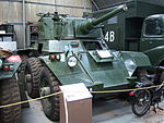 Six wheel light tank, NELSAM, 27 June 2015.JPG