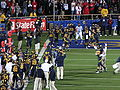 Skylar Curran scores TD at Arizona at Cal 2009-11-14.JPG