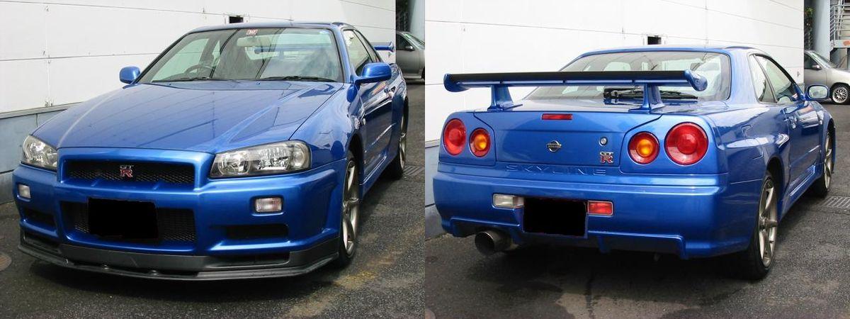 Nissan Skyline (R34) – Wikipedia