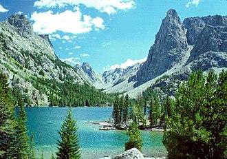 Bridger Wilderness - Slide Lake