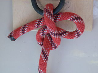 Overhand knot with draw-loop