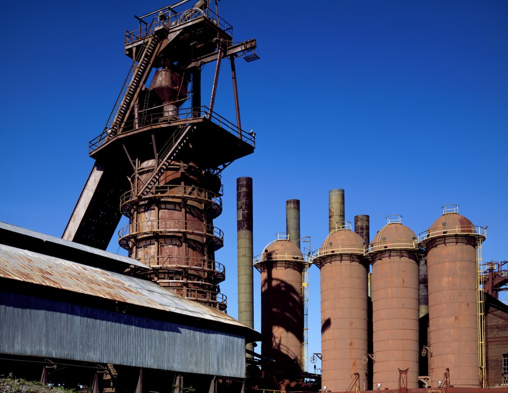 [Sloss Furnaces National Landmark]
