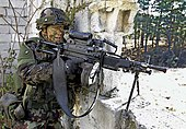 Slovenian soldier with FN Minimi.jpg