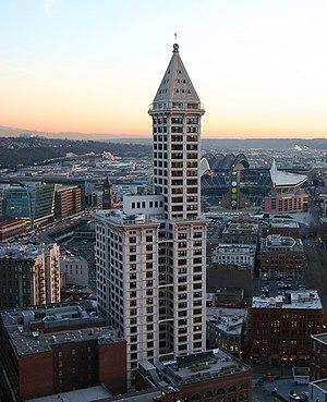 Lyman Cornelius Smith - Smith Tower in Seattle