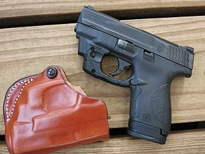 Smith & Wesson M&P - Image: Smith & Wesson M&P Shield (23643915529)