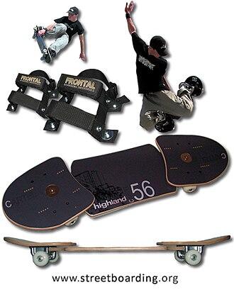 Snakeboard - Image: Snakeboards Streetboards