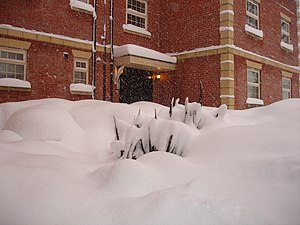 Arbourthorne - Image: Snow in Sheffield 1 Dec 2010