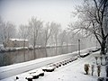 Snow on the Erie Canal trail by sailorbill.jpg