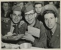 Soldiers celebrating Passover in Seoul, Korea, 1952 (8579108967).jpg