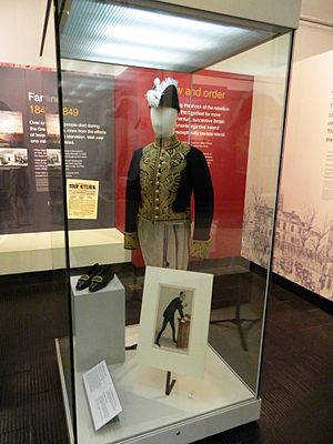 Edward Carson - Carson's ceremonial dress uniform, worn on his appointment as Solicitor General for England in 1900.