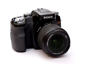 sony alpha 100 wikipedia