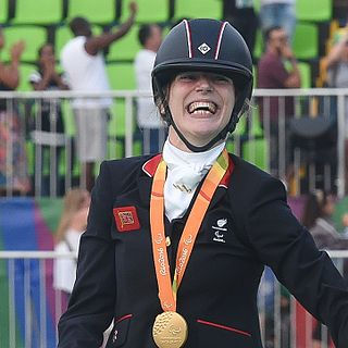 Sophie Christiansen British Paralympic equestrian