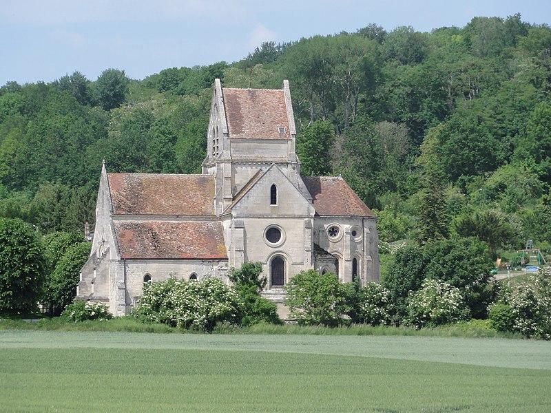 Soupir (Aisne) Église