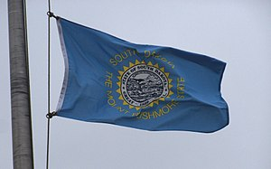 Flag of South Dakota - Photo of the flag