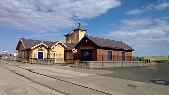 Volunteer Life Brigade - South Shields VLB Watch House dates from 1867