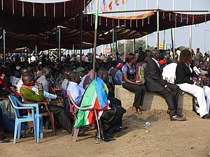 South Sudan independence day. Sarah Taylor/USA...