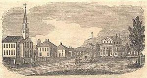 Randolph, Massachusetts - Randolph in 1839
