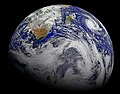 Southern Africa and the surrounding oceans. Original from NASA . Digitally enhanced by rawpixel. - 45438930575.jpg
