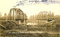 Southern Pacific Railroad and wagon bridges at Jefferson, Oregon (3230120712).jpg