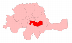 Southwark (UK Parliament constituency) - Southwark in London, 1868-85