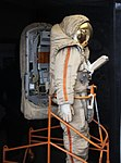Soviet Union lunar spacesuit - Smithsonian Air and Space Museum - 2012-05-15 (7276435486).jpg