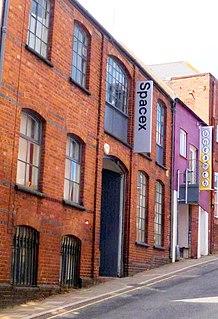 Spacex (art gallery) Contemporary art gallery in Devon, England