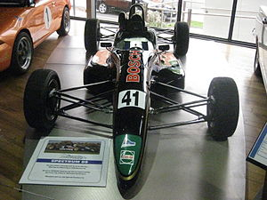 Borland Racing Developments - The Spectrum 09 in which Mark Winterbottom placed 2nd in the 2002 Australian Formula Ford Championship