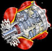 14-speed hub cutaway diagram