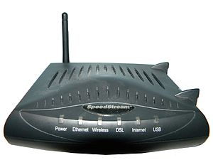 Bell Internet - Image: Speed Stream 6520