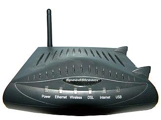 Bell Internet - Image: Speed Stream 6520