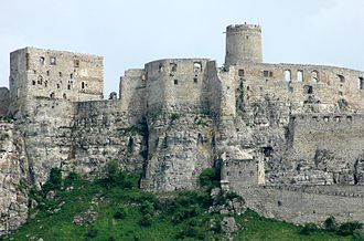 Spiš Castle - Spiš castle - the central part.