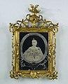 Spiegel met een portret van Prinses Carolina, BK-1966-63-B.jpg