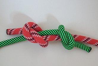 Fisherman's knot - Image: Spierenstich 2