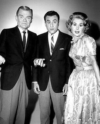 Spike Jones - Jones and his wife, Helen Grayco, with Bill Dana in 1960.  Dana wrote and produced the summer replacement show, as well as performed on it.