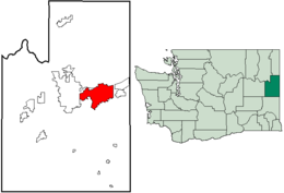 Spokane Valley – Mappa