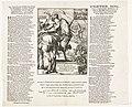 Spotprent op de keurvorst van Beieren, 1706 De Vervelde Bander-Heer van Beyeren, op stelten, reidende als Capitein van de Ban en Arrier-Ban, van Luidewyk de benaaude Angustus L'Electeur Banni, Ou le Capitaine General du, RP-P-OB-82.999.jpg