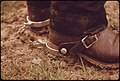 Spurs of a Ranch Hand Who Works in the Area of Leakey Texas, near San Antonio 05-1973 (3703573813).jpg