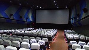 Kerala State Film Development Corporation - Sree theatre of KSFDC complex in Alappuzha
