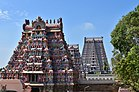 Sri Ranganathaswamy Temple, dedicated to Vishnu, in Srirangam, near Tiruchirappali (28) (37464519366).jpg