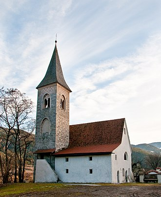 Brixen - St.Jacob Church.