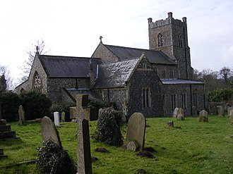 Saxmundham - Image: St.John the Baptist Church, Saxmundham geograph.org.uk 1193447