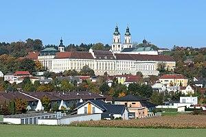 St. Florian Monastery - St. Florian Monastery in Sankt Florian, Austria