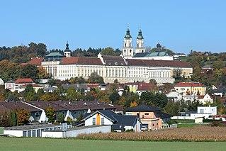 St. Florian Monastery building in Sankt Florian, Austria