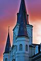 St. Louis Cathedral from Jackson Square.jpg