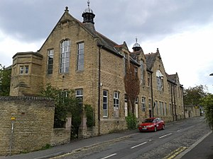 Listed buildings in Sheffield S2 - Image: St Ann's Schools