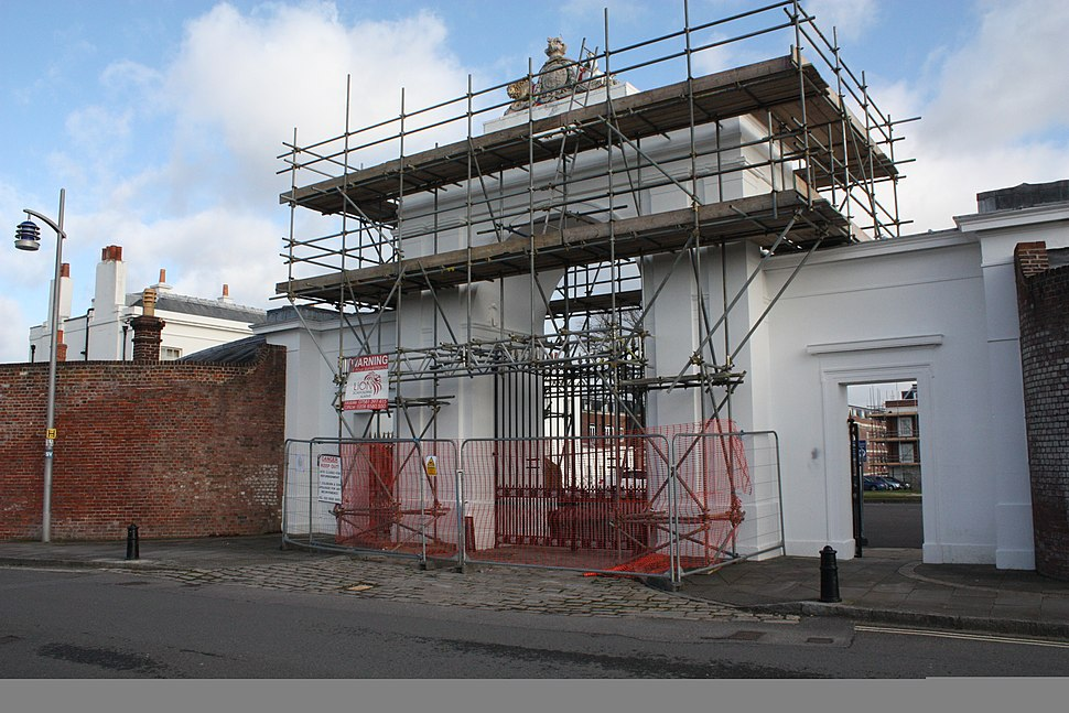 St Clarence Yard Gate Maintenance