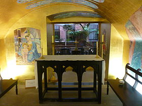 St James Church, Sydney Children's Chapel Altar.jpg