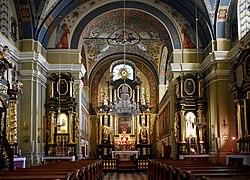 St Joseph Church (interior), 21 Poselska street, Old Town, Krakow, Poland.jpg